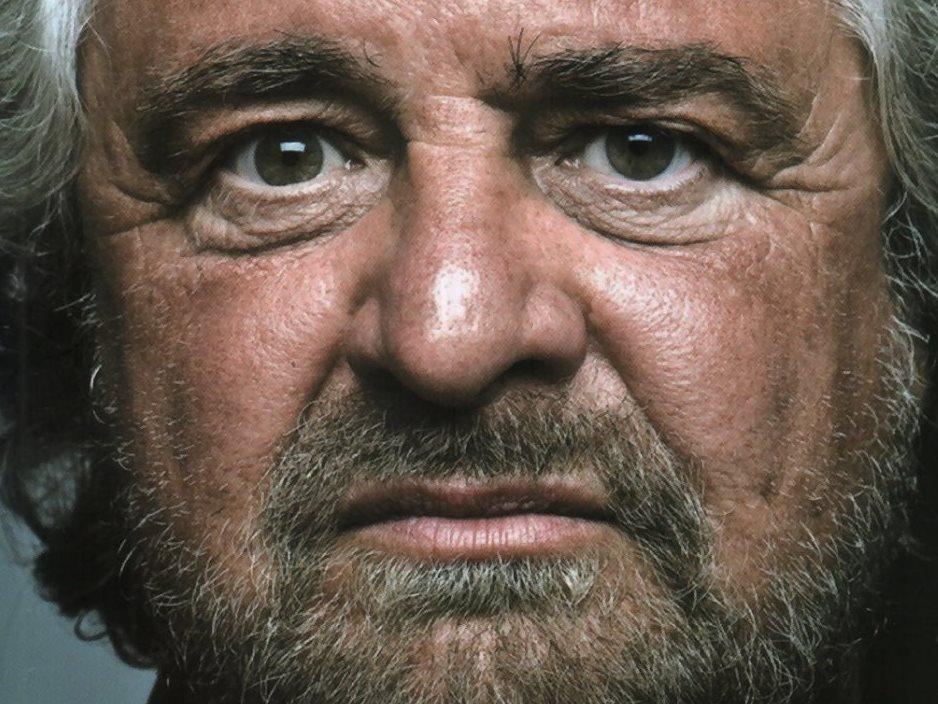 Beppe Grillo - Primo piano