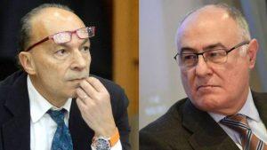L'Assessore Sergio Venturi ed il Presidente dell'Ordine dei medici di Bologna Giancarlo Pizza