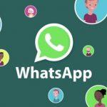 WhatsApp logo con avatar intorni